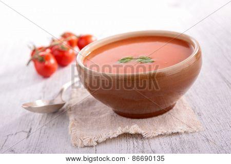 tomato cold soup