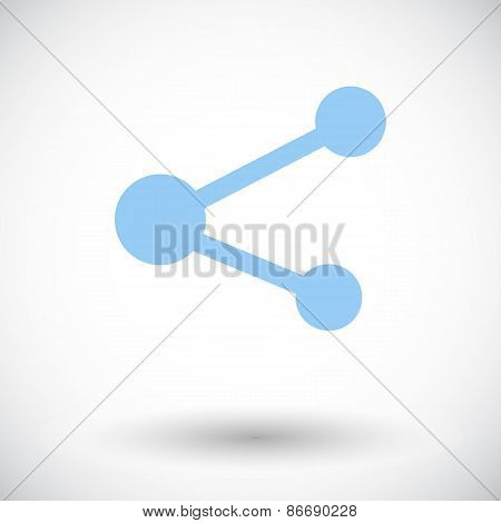 Share symbol.