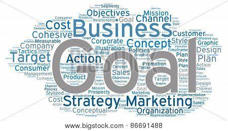 Cloud Shaped Business Word Cloud