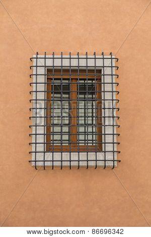 Protective Bars On A Window