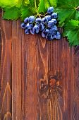pic of grape  - fresh grape on the wooden table grape on a table - JPG