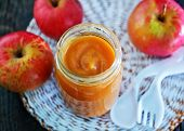 picture of nurture  - baby food in bank and on a table - JPG