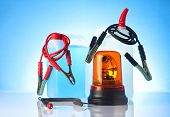 picture of rectifier  - windshield washer fluids and jump start cables - JPG
