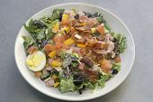 pic of bacon  - Chef salad with bacon - JPG