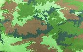 stock photo of camoflage  - a military camouflage fabric background texture  - JPG