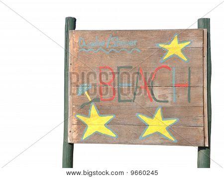 Signo de playa