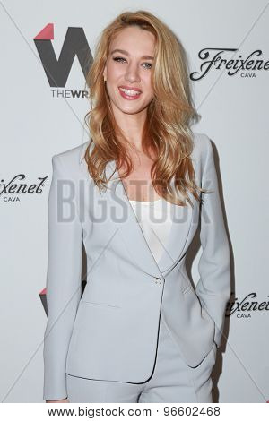 LOS ANGELES - JUN 11:  Yael Grobglas at the TheWrap's 2nd Annual Emmy Party at the London Hotel on June 11, 2015 in West Hollywood, CA
