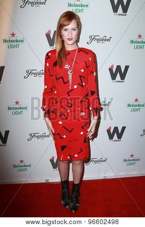 LOS ANGELES - JUN 11:  Breeda Wool at the TheWrap's 2nd Annual Emmy Party at the London Hotel on June 11, 2015 in West Hollywood, CA