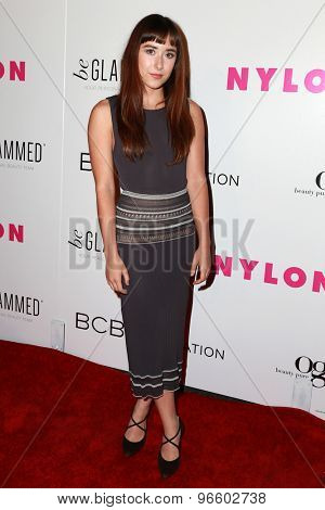 LOS ANGELES - MAY 7:  Christina Scherer at the NYLON Magazine Young Hollywood Issue Party  at the HYDE Sunset on May 7, 2015 in West Hollywood, CA
