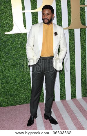 LOS ANGELES - JUN 24:  Hosea Chanchez at the 2015 BET Awards Pre-Dinner at the Sunset Tower Hotel on June 24, 2015 in Los Angeles, CA
