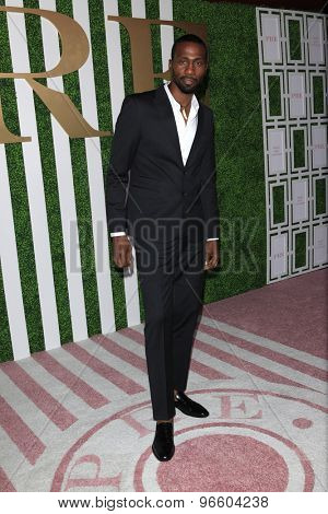 LOS ANGELES - JUN 24:  Leon Robinson at the 2015 BET Awards Pre-Dinner at the Sunset Tower Hotel on June 24, 2015 in Los Angeles, CA