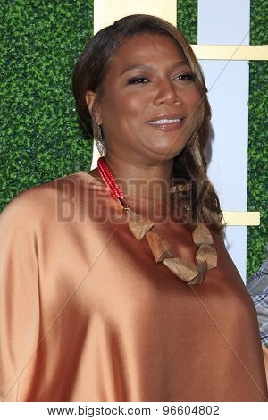 LOS ANGELES - JUN 24:  Queen Latifah at the 2015 BET Awards Pre-Dinner at the Sunset Tower Hotel on June 24, 2015 in Los Angeles, CA