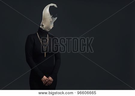 Adult Headless Woman As Symbol For Burn Out Syndrome