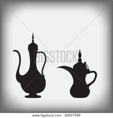 Arab Old Jug And Coffee Pot