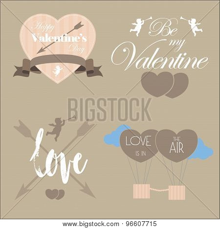 Valentine's Day Vector Pack Elements