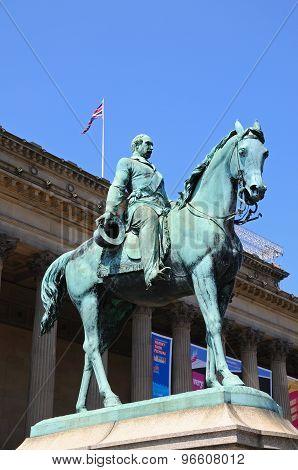 Albert Prince Consort statue, Liverpool.