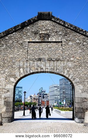 Salthouse Dock Arch,Liverpool.