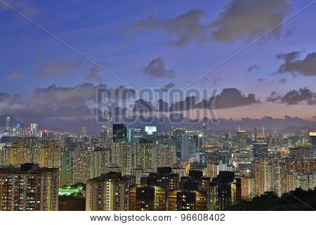 East Of Kowloon View Of Hong Kong City Landscape