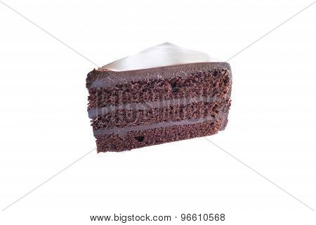 Piece Of Chocolate Cake