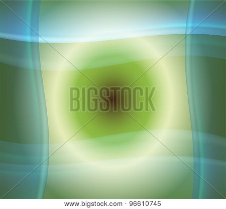 Abstract blue soft background as wave design