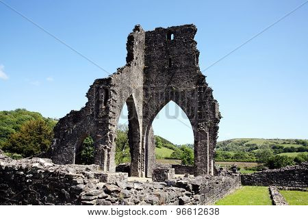 Talley Abbey, Carmarthenshire, Wales