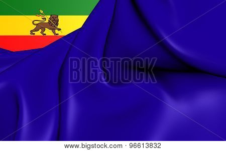 War Ensign Of Ethiopia (1974-1975)