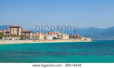 Ajaccio Coastal Cityscape Panorama, Corsica