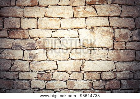 Old Stone Wall, Detailed Background Texture