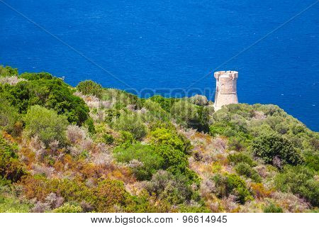 Genoese Campanella Tower, Corsica, France