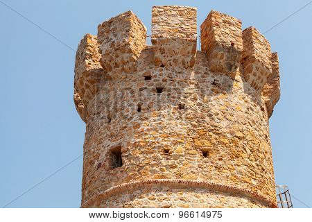 Campanella Tower, Old Genoese Fort On Corsica