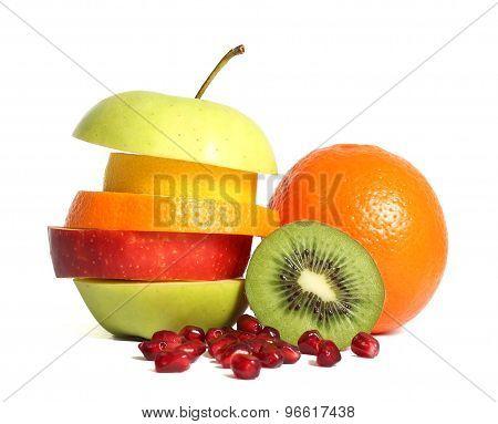 Fresh Mixed Fruit Diet