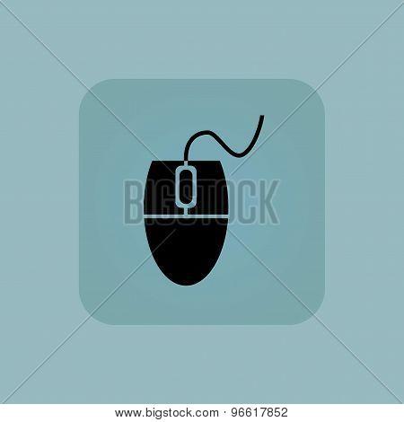 Pale blue mouse controller icon