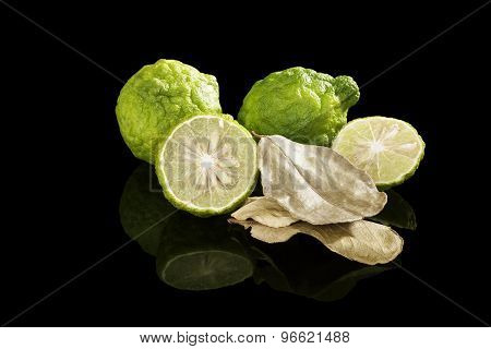 Luxurious Bergamot Background.