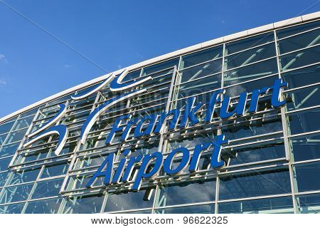 Frankfurt International Airport, Germany