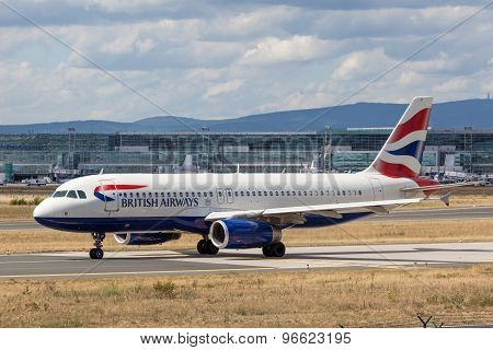 British Airways Airbus A319-100