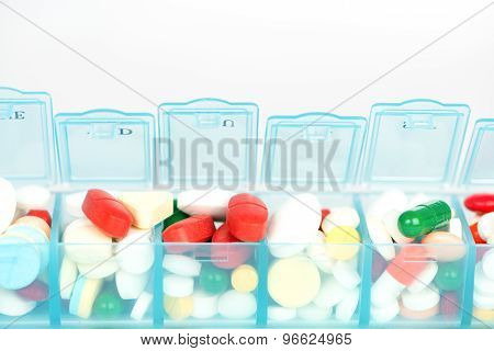 Medicine In Weekly Pill Box