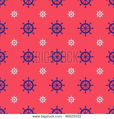 Seamless nautical pattern