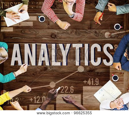 Analytics Data Analysis Strategy Statistic Concept