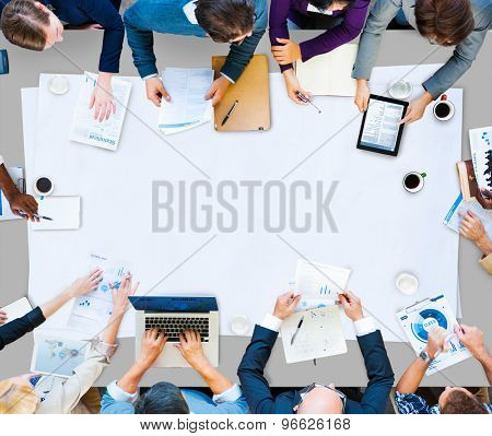 Meeting Business Analysis Discussion Management Concept