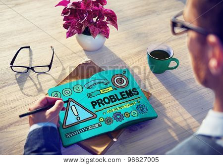 Problems Trouble Difficulty Failure Challenge Concept