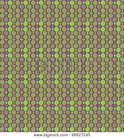 Seamless mosaic pattern green violet
