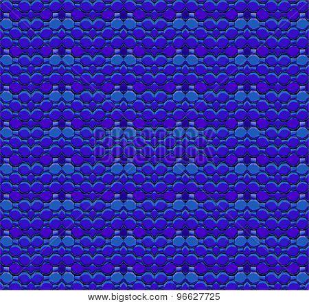 Seamless mosaic pattern blue purple