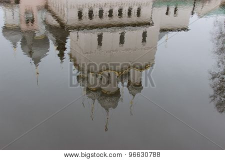 Reflected In Water Orthodox Church