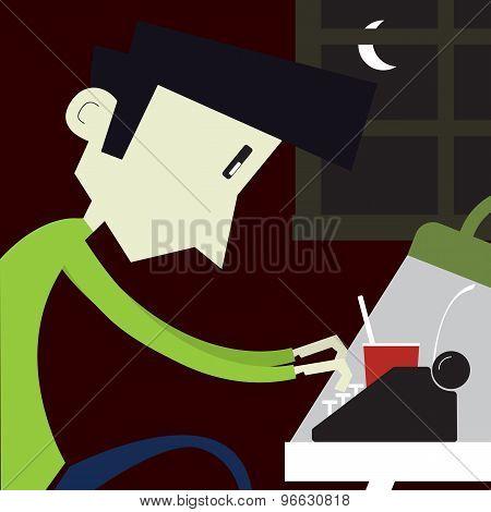 Boy At Home Desk4