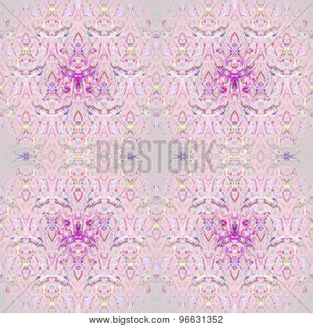 Seamless pattern pink gray