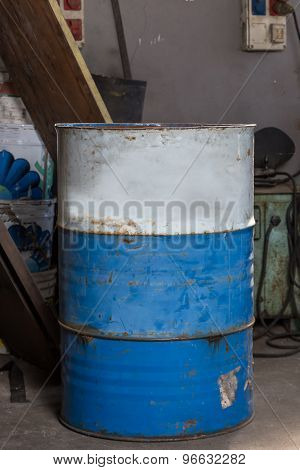 Old Oil Drum