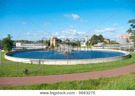 Waste Water Treatment Basin