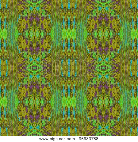 Seamless pattern green brown