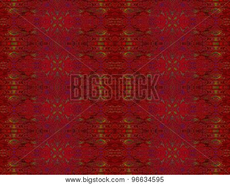 Seamless pattern dark red