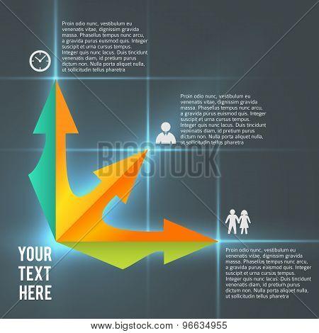 Infographics Business Management Presentation Template